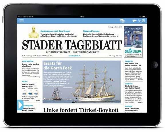 ePaper App Stader Tageblatt