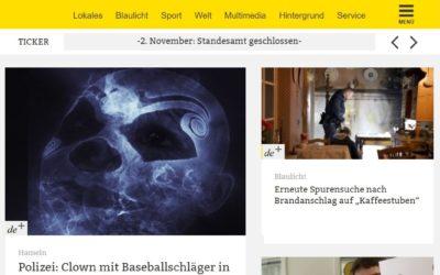 Relaunch dewezet.de, szlz.de und ndz.de