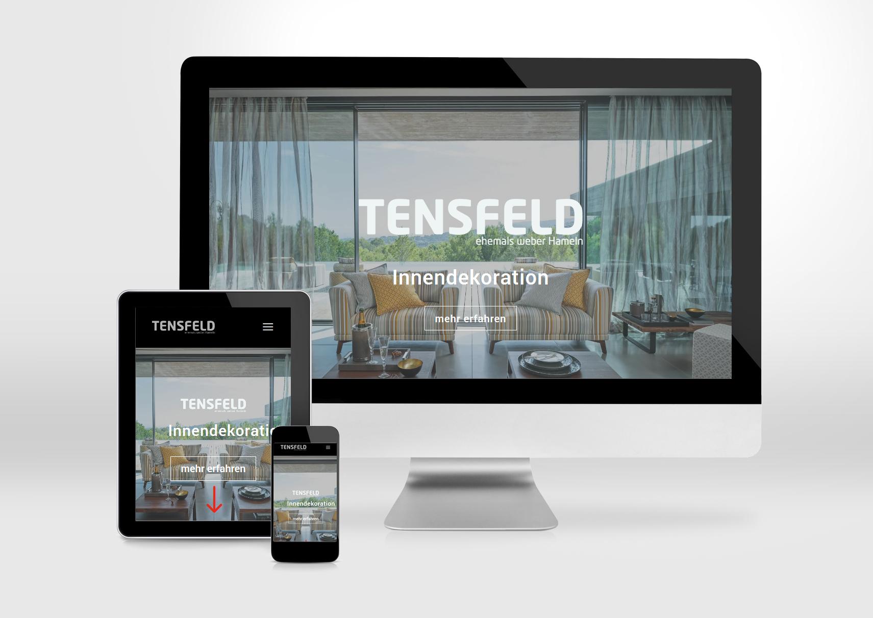 Tensfeld Innendekoration - Medien 31 Hameln - Internetseiten ✓ Apps ...
