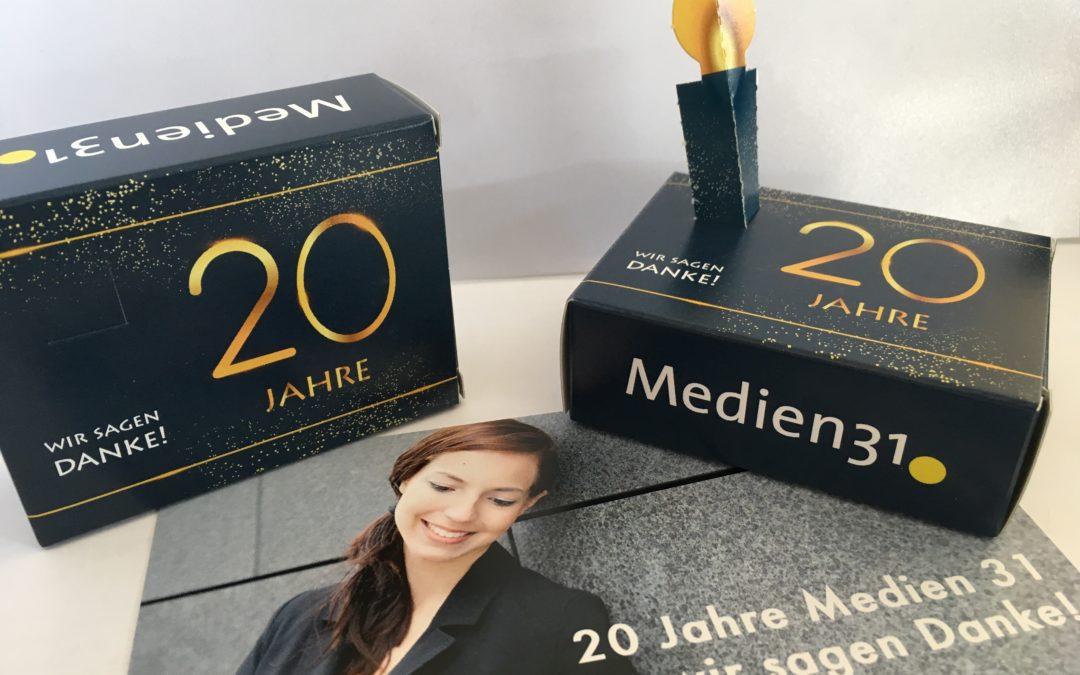Geburtstag – 20 Jahre Medien 31
