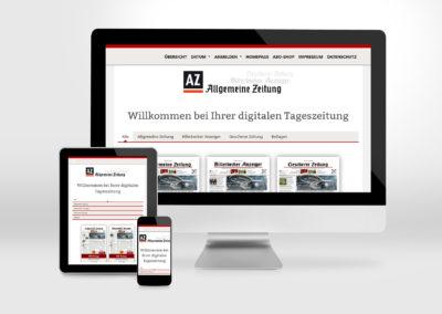 Allgemeine Zeitung E-Paper