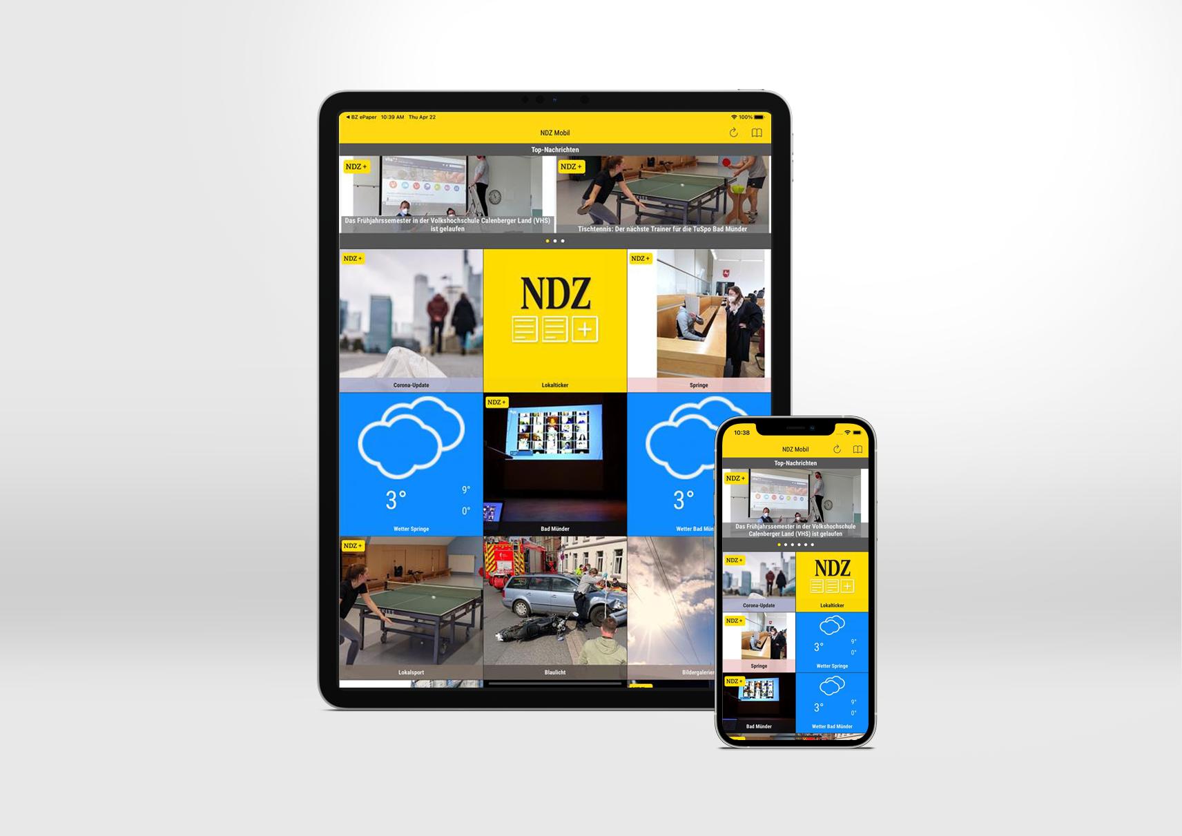Neue Deister Zeitung Smart App